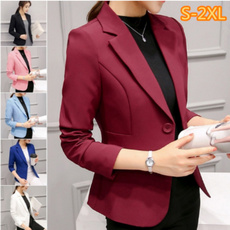 Moda, Blazer, Office, Coat