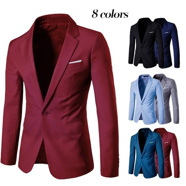 clothesformen, mens underwear, Blazer, menslongsleevecoat