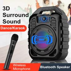 Headphones, bluetoothmicrophone, led, Speaker Systems