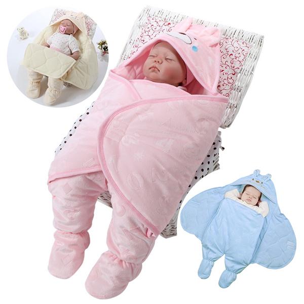 Soft Snuggle Swaddling Blanket Newborn