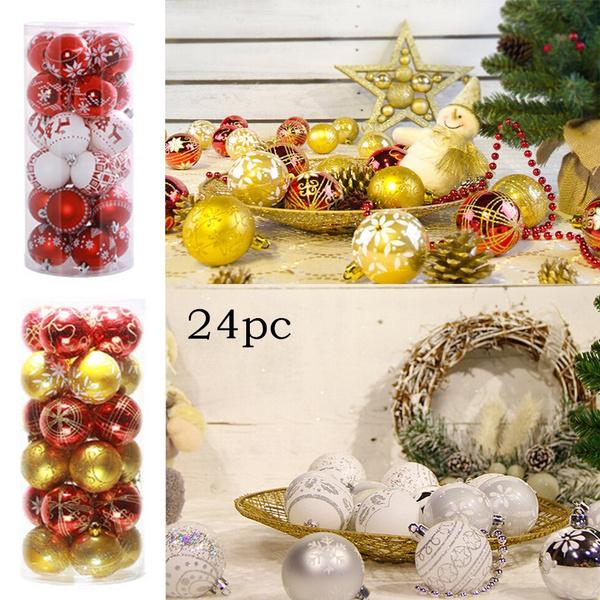 Casa Weihnachtsdeko.Colors Shatterproof Christmas Ball Ornaments Navidad Decoracion Navidad Adornos Weihnachten Deko Natal Decorao Natale Decorazioni Natal Decoracao