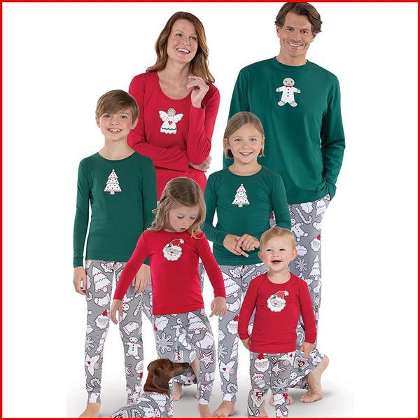 Plus Size Christmas Pajamas.Family Christmas Pajamas For Family Plus Size Christmas Xmas Pajama Infantil Kids Set Deer Sleepwear Nightwear