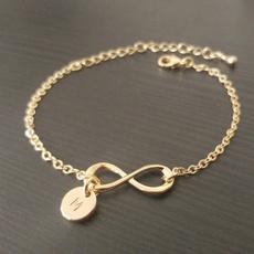 infinity bracelet, monogram, Infinity, Jewelry