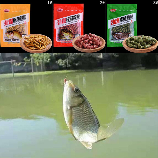 Fishing Bait Granular Fishing Bait Additives for Grass Carp Squid Fish FoodSN