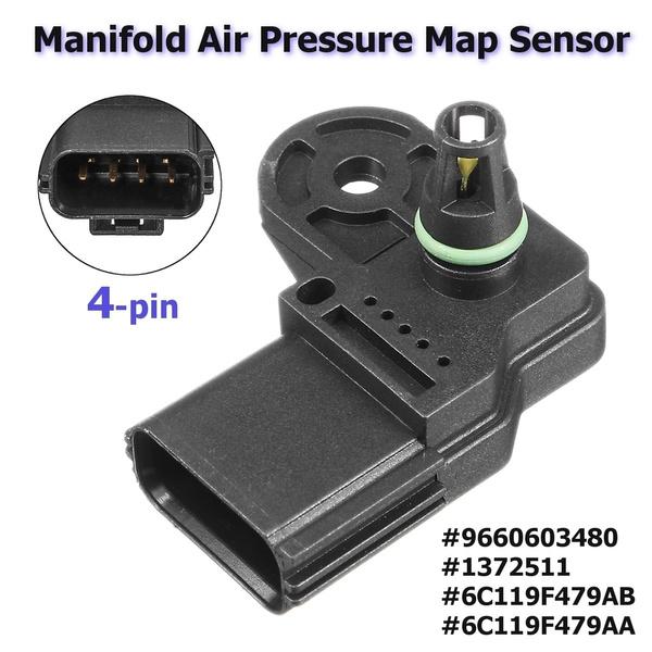 MAP Manifold Air Pressure Sensor 6C119F479AB