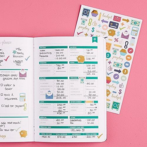 wish erin condren budget book monthly expense planner petite planner
