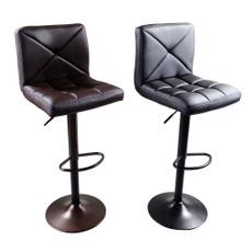 swivel, adjustablechair, leather, Stool