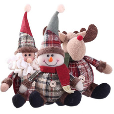 cute, Christmas, Ajándékok, doll