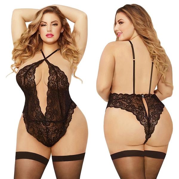 Underwear, Plus Size, bodysuitlingere, Lace
