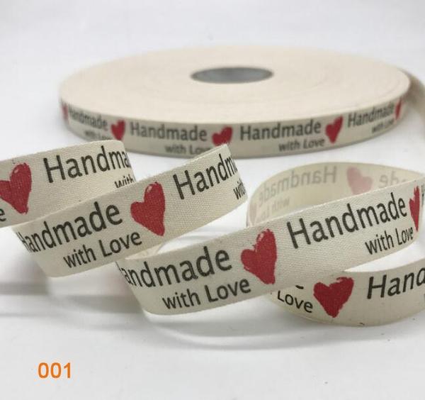 handmaderibbon, printedribbon, Christmas, Gifts