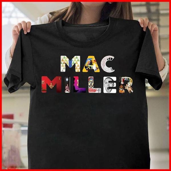 Star mac miller Plus size Women Men T-Shirt 3D Print Short Sleeve Tee Tops