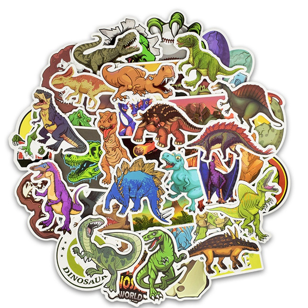 Waterproof, dinosaurdecorativesticker, Stickers, Phone
