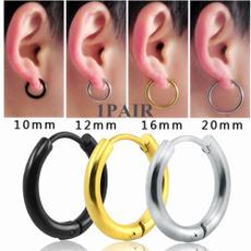 Steel, womensfashionampaccessorie, Men Earrings, Jewelry