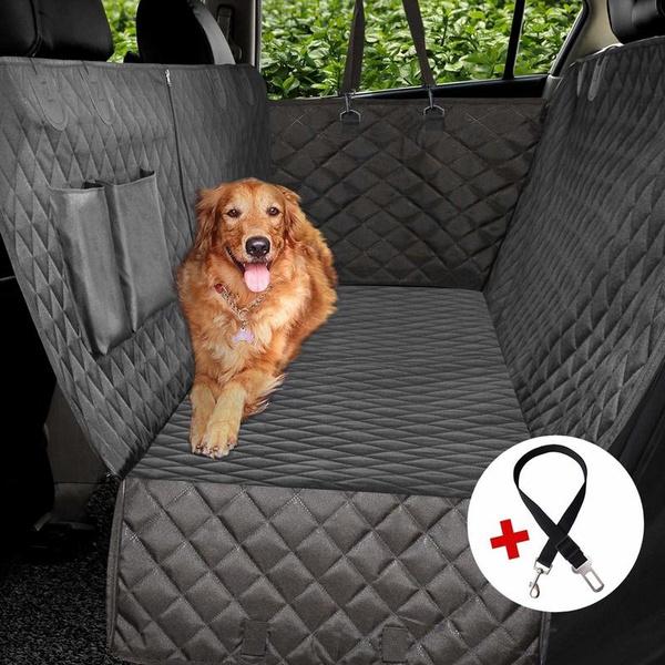 Waterproof Pet Dog Car Rear Back Seat Cover Blanket Cushion Protector Hammock