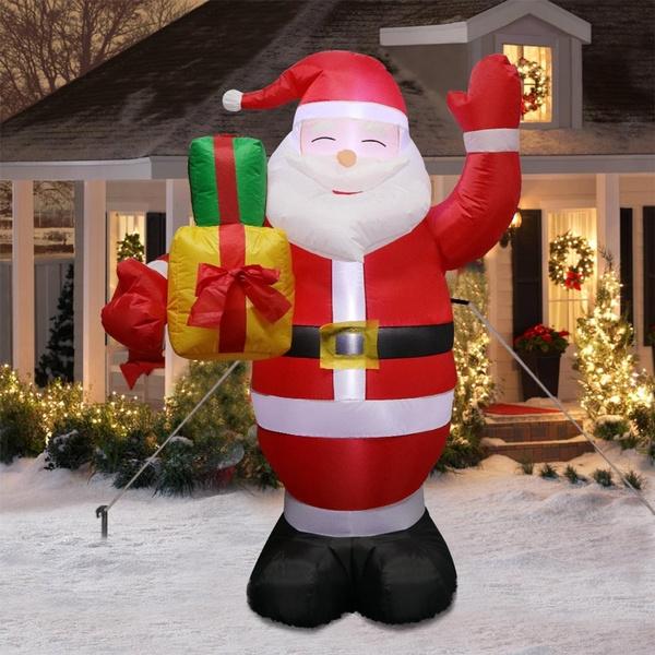 airblowninflatable, giantinflatablesanta, Outdoor, Christmas