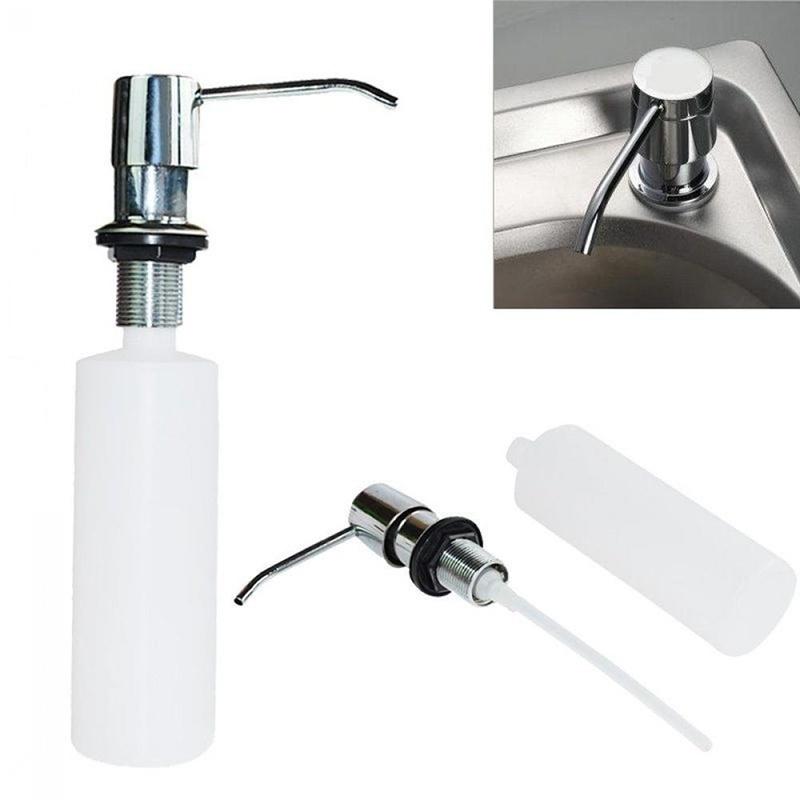 Details about 300ML Sink Soap Dispenser Kitchen Soap Hand Press Liquid Pump  Bottle Dispenser