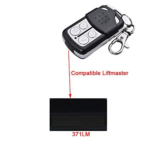 371LM Remote for Liftmaster Garage Door Control Opener 315MHZ Replacement  by Wadoy