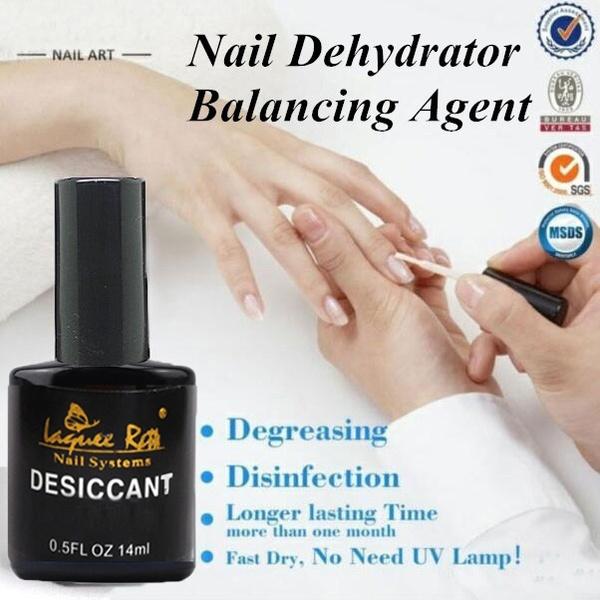 14ml Nail Desiccant Liquid Nail Art Acrylic No-Acid Primer UV Tips ...