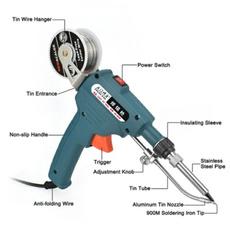 Iron, handheldsoldering, lötpistole, solderingtingun