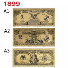 golden, Jewelry, gold, goldbanknote