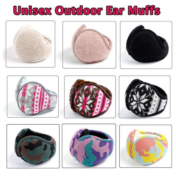 Earmuffs Female Comfortable Ears Earmuff Winter Warm Outdoor Sport Ear Cover Protector Keep Warm Ear Warmers