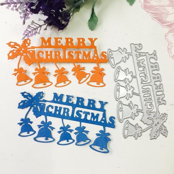 diecutsforcardmaking, Scrapbooking, Christmas, Bell