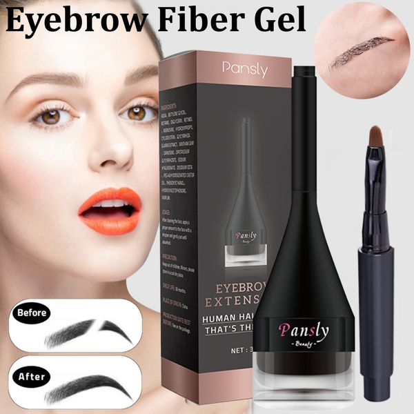 231ecbe244d 3D Eyebrow Extensions Gel Fiber Waterproof Building Brow Hair and ...