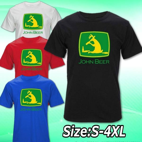 roundneckshirt, Fashion, plusvelvettshirt, johnbeershirt