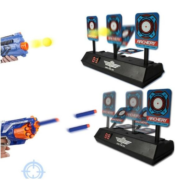 0643d8d07 New Children Electric Score Bullet Target Toy for Nerf Toys Soft Bullets  Blaster Kids Toy Kids Gift (Not Include Toy Gun or Bullets)   Wish