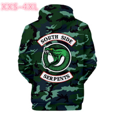3D hoodies, hooded, Winter, Sleeve