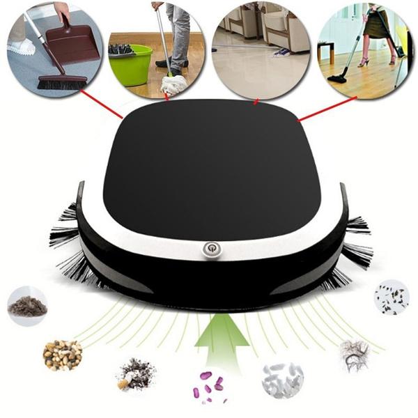 Robot Vacuum Auto Cleaning /& Rechargeable Floor Cleaner