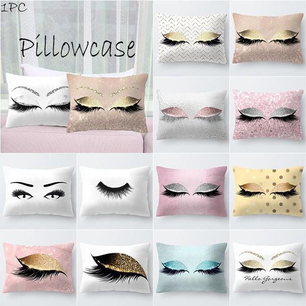 printedpillowcase, bedroom, Pillowcases, Pillow Covers