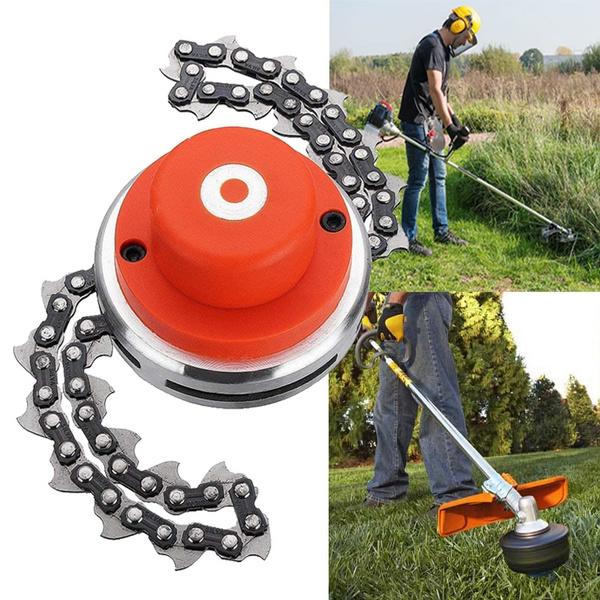 65Mn Grass Trimmer Head Coil Chain Brush Cutter Garden Grass Trimmer for Lawnmower ile ilgili görsel sonucu