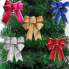 partyarrangement, christmastreependant, Christmas, giftsbowknotdecoration