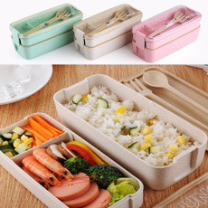 Box, spoonfork, portable, bentobox