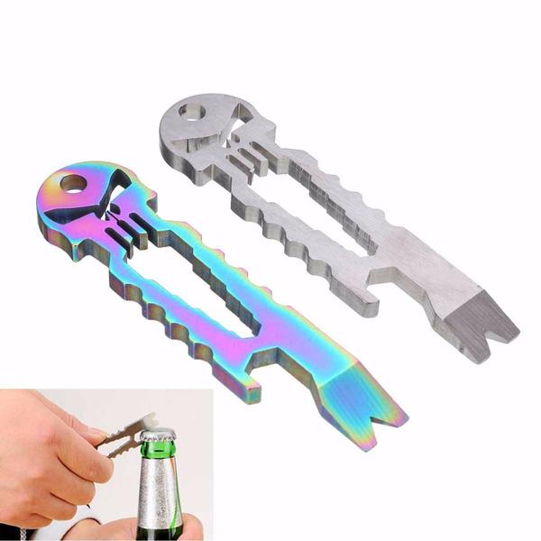 Key Chain, skull, skullbottleopener, bottleopener