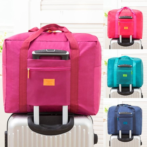 Portable Waterpoof Foldable Travel Luggage Baggage Storage Carry On Duffle Bag by Wish
