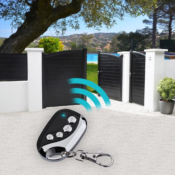 Lot de 4 T/él/écommande Universelle Copieuse Remote 433.92 MHz Portail Garage Alarme Lumi/ère