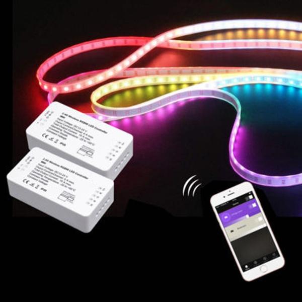 Hot LED Remote Controller Light Strip For ZigBee Light Link Strip App Zigbee Light Link on status light, loop light, top light,