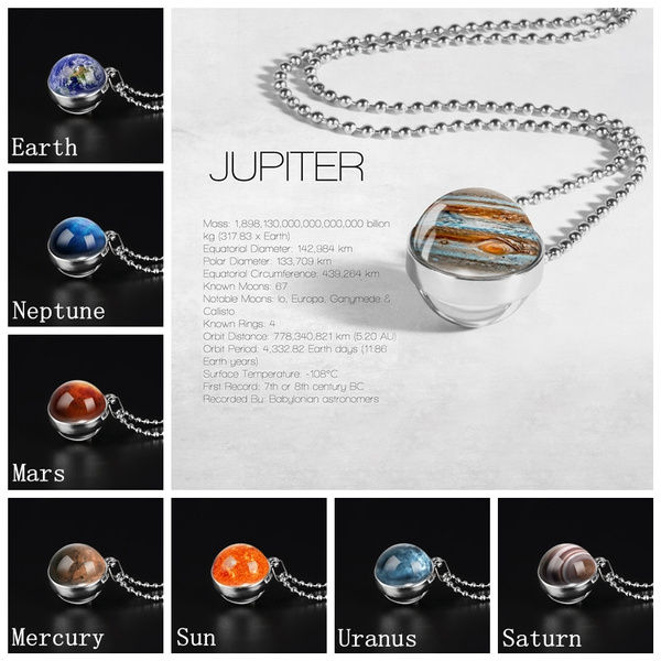 spacejewelry, jupiternecklace, Fashion, Jewelry