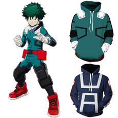 Fashion, Cosplay, printed, zipperjacket