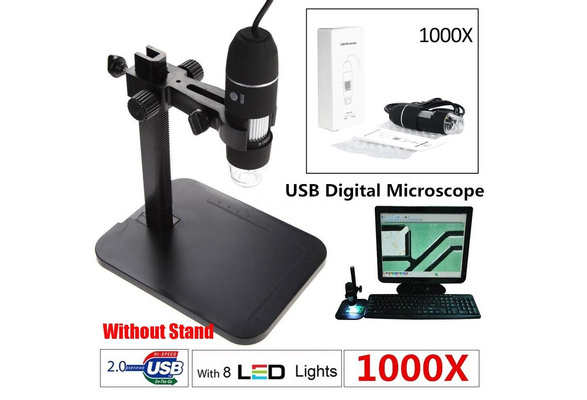 Led mp pixels usb digital microscope magnifier