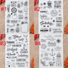 Card, allesliebe, rubberstamp, Stamps