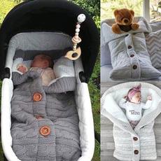babysleepingbag, newbornblanket, babysleepsack, thickknitted