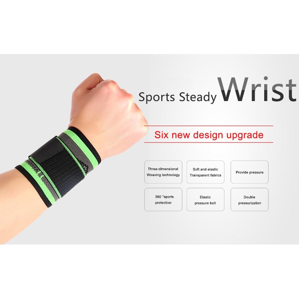 Спортивные аксессуары Регулируемый браслет на запястье для занятий тяжелой атлетикой (Фото 1)
