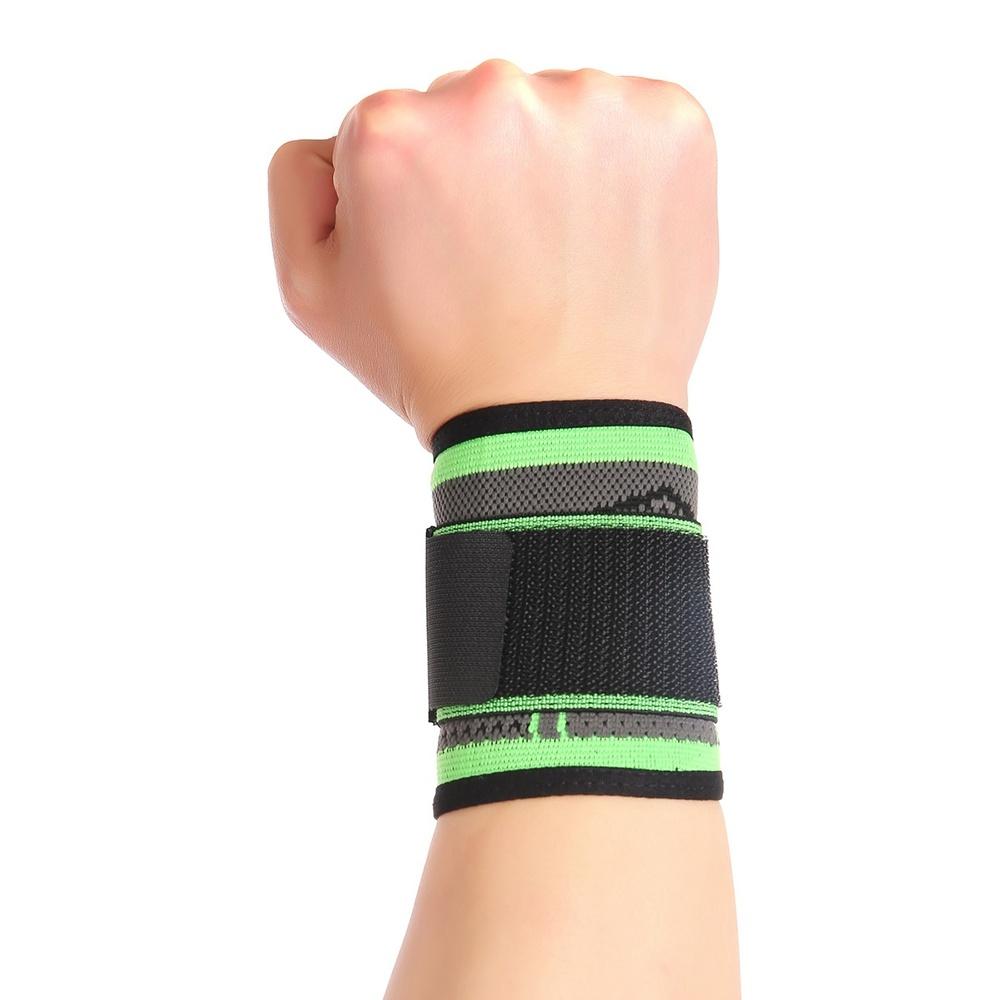 Спортивные аксессуары Регулируемый браслет на запястье для занятий тяжелой атлетикой (Фото 2)