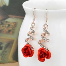 Dangle Earring, Gifts, women earrings, Rose