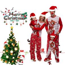 Christmas, Family, Deer, cottonpajama