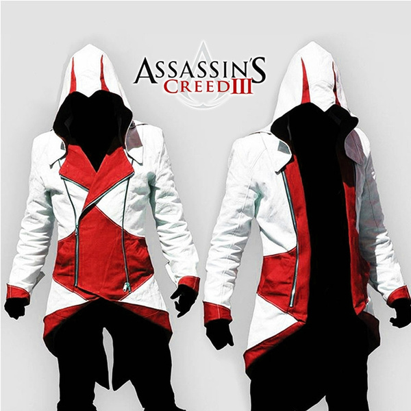 Assassins Creed 3 Anime Cosplay Costume Assassins Creed Jacket