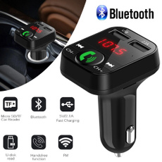 Transmitter, Car Charger, Cargador, bluetoothfmtransmitter